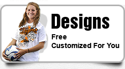Soccer T Shirts and Hoodies Made Easy Designs